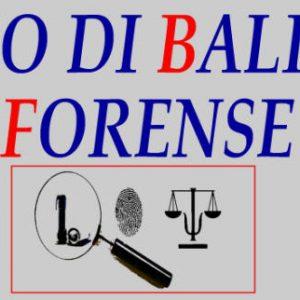 Studio Balistica Forense Perito balistico
