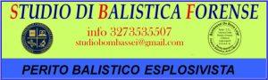 balistica Forense perito Balistico Udine Napoli Milano Roma Palermo Genova Bergamo