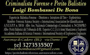 perito balistico perizie balistiche Balistica Forense Esplosivi armi scena del crimine