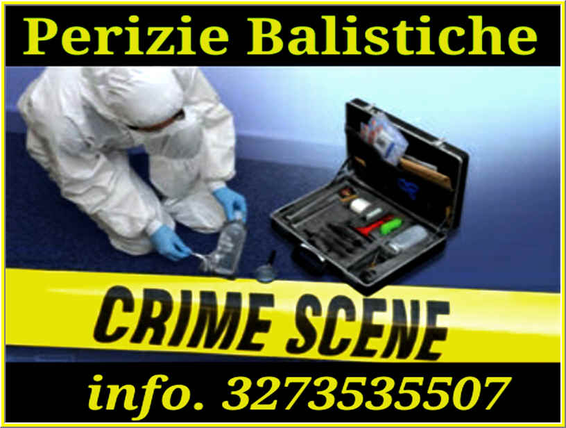 criminalista forense perizie balistiche Milano napoli roma Bologna Torino Genova Venezia Trieste Bolzano Modena Firenze Bari Brindisi
