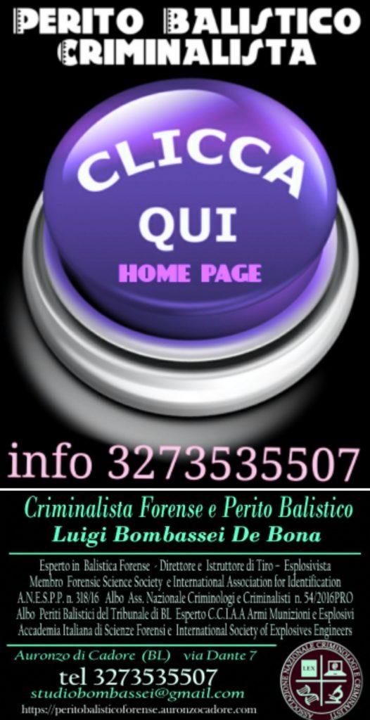 perito balistico forense italia criminalista